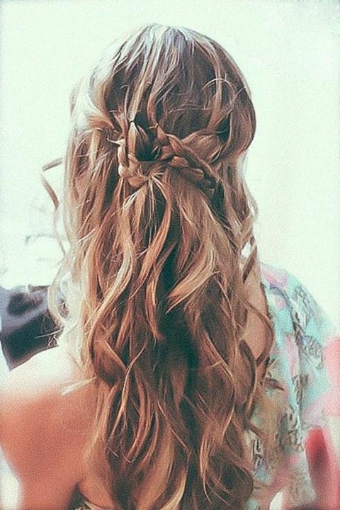 adems de ser romnticas las trenzas te permiten conservar el largo de tu pelo y