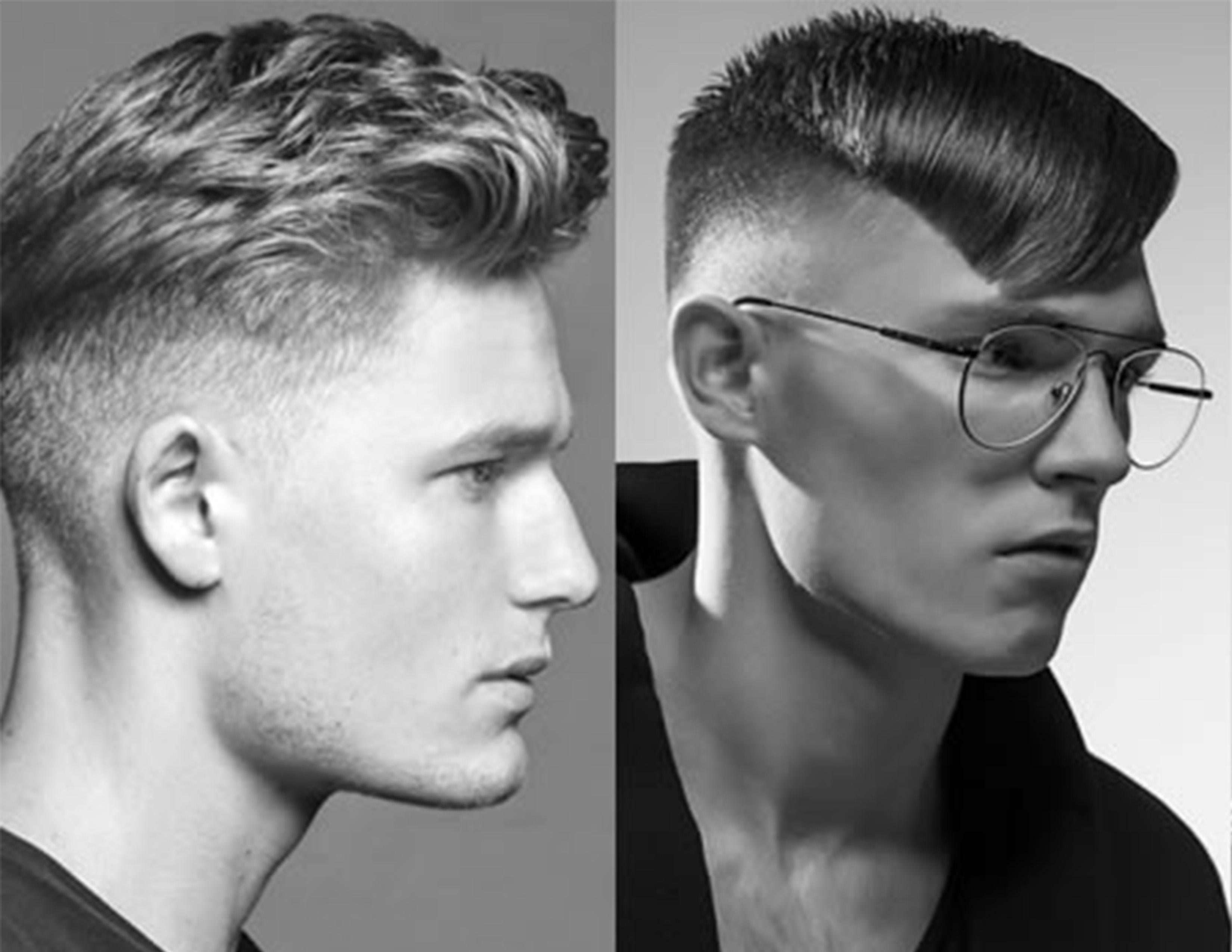 Corte de pelo de hombre la cresta