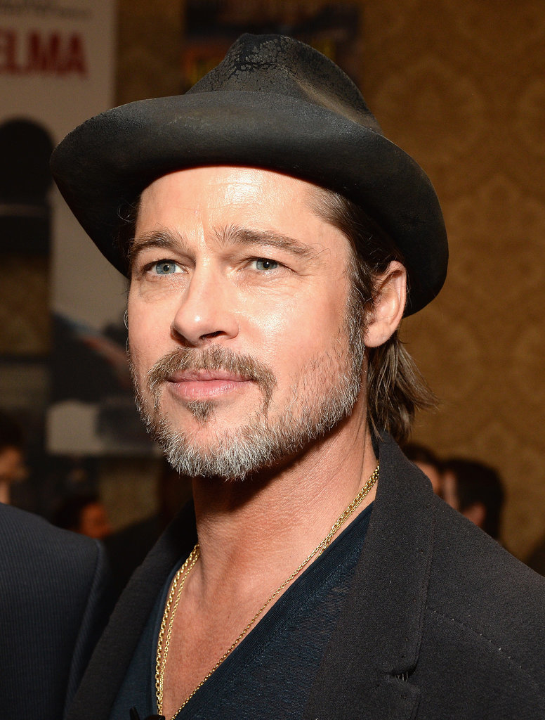 Brad-Pitt-Celebrity-Gray-Hairstyles-for-Men
