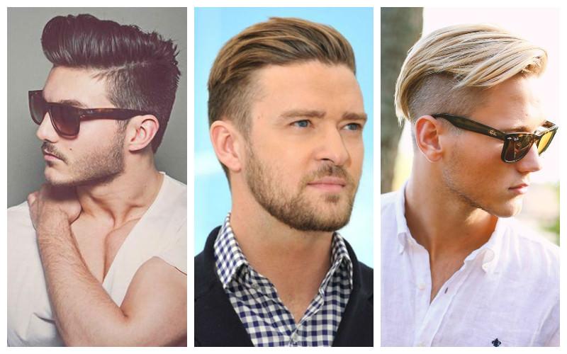 cabello a un lado y undercut