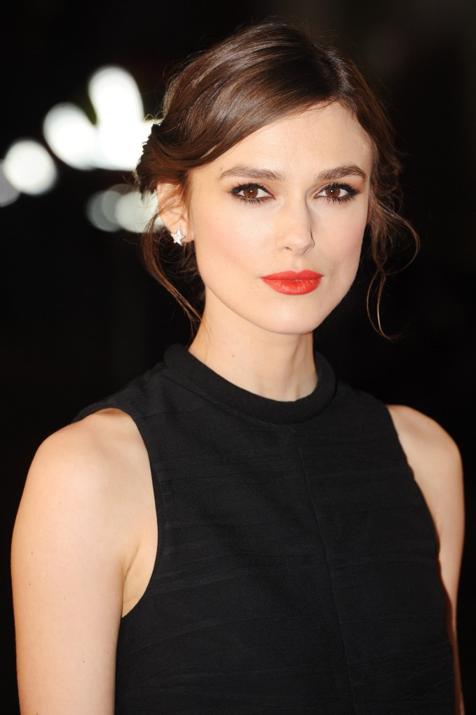 LONDON, ENGLAND - JANUARY 20:  Keira Knightley attends the UK premiere of 'Jack Ryan: Shadow Recruit' on January 20, 2014 in London, England.  (Photo by Dave J Hogan/Getty Images)