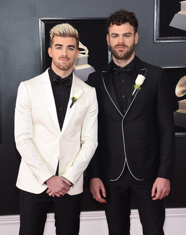 Andrew Taggart y Alex Pall The Chainsmokers